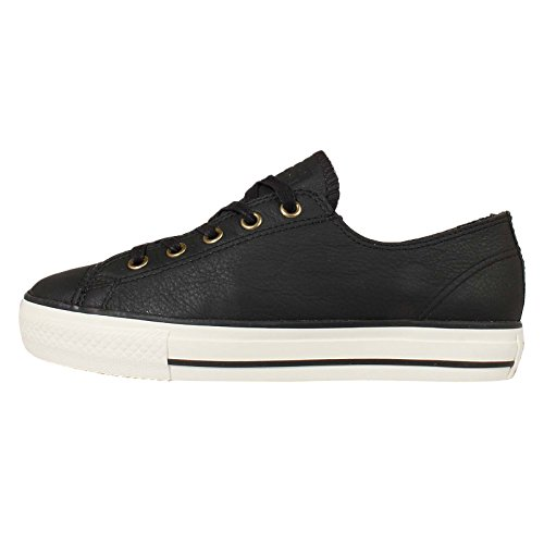Converse All Star High Line OX Damen Sneaker Schwarz Black/White
