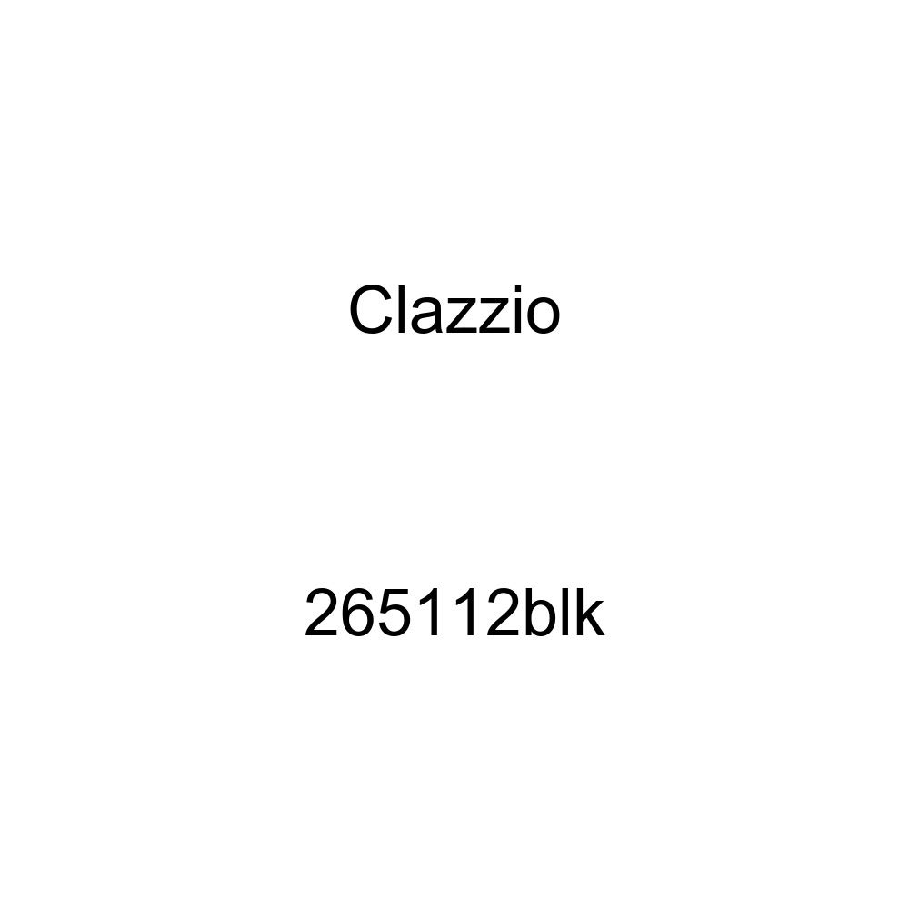 Clazzio 265112blk Black Leather Front and Rear Row Seat Cover for Toyota FJ Cruiser