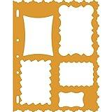 Fiskars 4859 Gabarit de Découpe Cadres - Orange