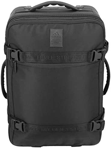 adidas Unisex Stadium Wheel Bag, Black, ONE Size