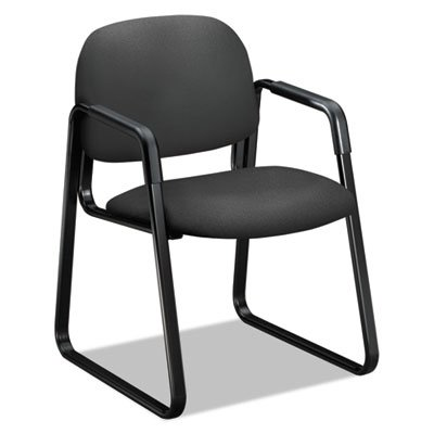 Solutions Seating 4000 Series Sled Base Guest Chair, Iron Ore ()