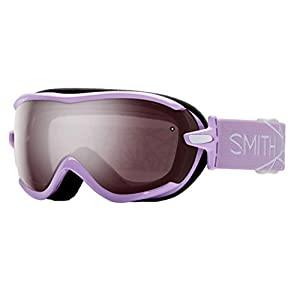 Smith Optics Virtue Women's Spherical Series Ski Snowmobile Goggles Eyewear - Blush/Ignitor Mirror / Small