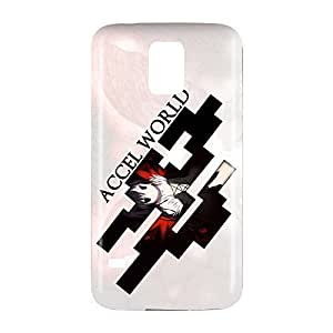 Accel World Snap on Plastic Case Cover Compatible with Samsung Galaxy S5 GS5