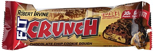 Fit Crunch Bars Cookie Dough, 12 Count