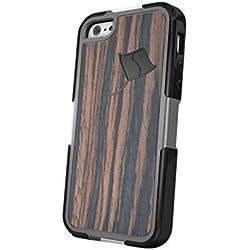 StingRay Shield SRSSE - iPhone SE Case-System with EMF Radiation Reduction Technology (Wood)