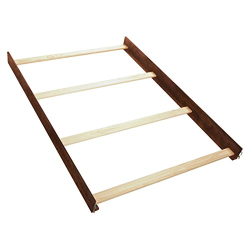 Kids Full Wood - Simmons Kids Full Size Wood Bed Rails, Espresso Truffle