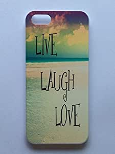 LYYF New Fashion Cool High Quality LIVE LAUGH LOVE Hard Case/cover for Iphone 5/5s
