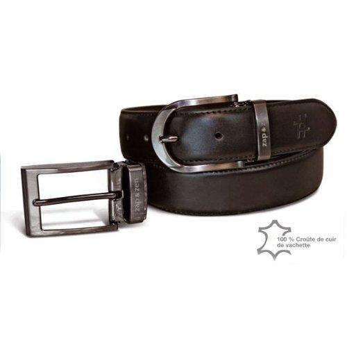 ZAP   ZEN SPIRIT Coffret ceinture Zap   Zen réversible marron-noir -  Coffret ceinture Zap   Zen réversible marron-noir  Amazon.fr  Vêtements et  accessoires b13aec699e0