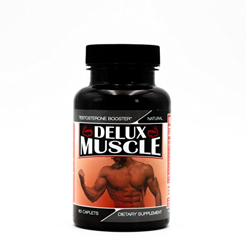 Pump Amplifier Muscle (Delux Pump- All Natural Nitric Oxide Booster- Stimulant Free Power Formula - Amplify Workouts - Build Muscle - Endurance - Stamina - All Natural-)
