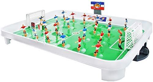 ISO TRADE Juego de Mesa fútbol plástico tamaño L - Juego fútbol de ...