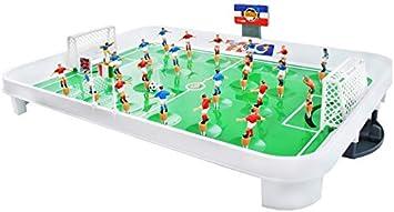 ISO TRADE Juego de Mesa fútbol plástico tamaño L - Juego fútbol ...