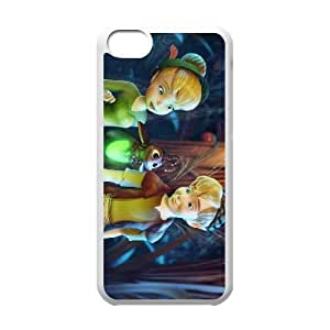iPhone 5c Cell Phone Case White Tinker Bell and the Lost Treasure Character Blaze Custom Hard Phone Case Cover CZOIEQWMXN16166
