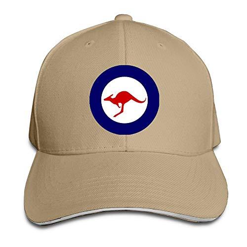 Madoling Australian Air Force Roundel Sandwich Hat Baseball Cap Dad Hat