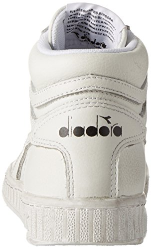 Adulto Game High L Alto – Sneaker Diadora Bianco Collo Unisex a Waxed FZfwxdvq