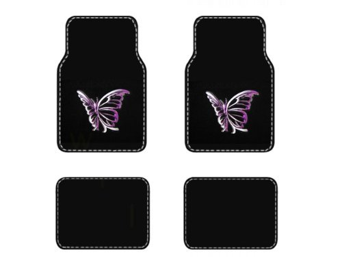 purple car floor mats - 4