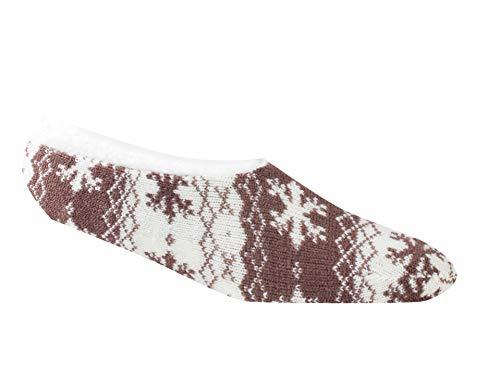 Woolrich, Snowflake Slipper, Aubergine, Medium
