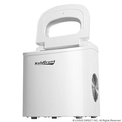 Amazon.com: Koldfront Ultra Compact Portable Ice Maker   White: Kitchen U0026  Dining
