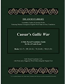 Amazon ap latin vergil and literature exams rea the best test caesars gallic war a fully parsed vocabulary guide for the ap latin exam books fandeluxe Image collections