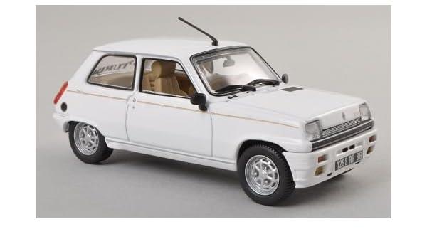 Renault 5 Laureate Turbo, blanco , 1985, Modelo de Auto, modello completo, Norev 1:43: Amazon.es: Juguetes y juegos