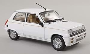 Renault 5 Laureate Turbo, blanco , 1985, Modelo de Auto, modello completo, Norev 1:43