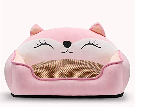 MARIS Pet Dog Bed Deluxe Plush Sofa for Dogs and Cats Detachable,2,M-60  50  15 30CM