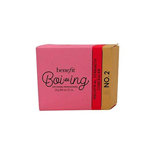 Benefit Cosmetics Boi-ing Industrial Strength Full Coverage Concealer Shade #2 Light/Medium 0.1 oz