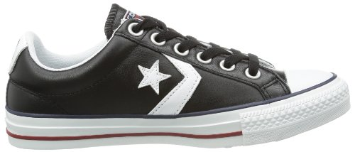Mode Lea blanc noir Adulte Mixte Ox Converse Sp Core Baskets Noir q61nfXw