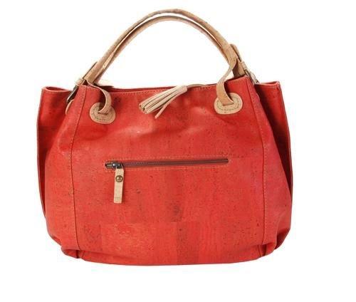 Kork-Tasche, Damenhandtasche aus Kork, Henkeltasche, Shopper, Tasche-Kork