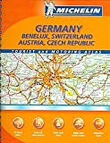 Michelin Germany Austria Benelux Atlas, Michelin Travel Publications, 2061002528
