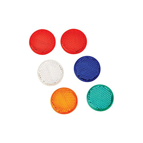 Hy-Ko CMR-10 1-1/4'' Assorted Colors Mini Reflectors