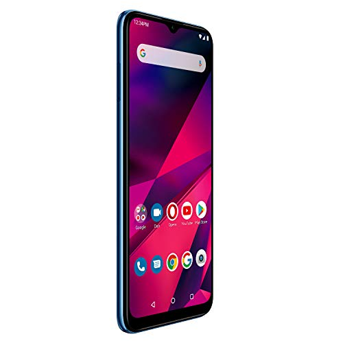 "BLU G90-6.5"" HD+ Smartphone with Triple Main Camera, 64GB+4GB RAM and Android 10 -Blue"