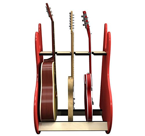 RetroRack Deluxe 3 Guitar Stand by A&S Crafted Products (Image #1)