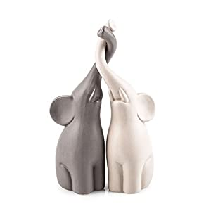 Pajoma 54837 Loving Elephants Set of 2, Height 25.5 CM