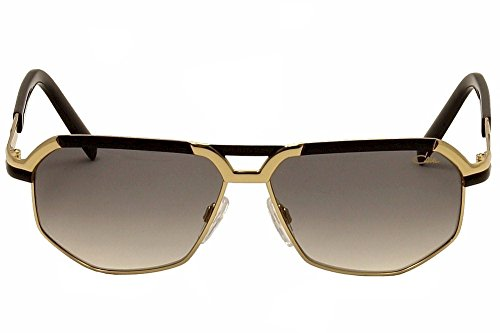 cb3ae6117ac Cazal 9056 Sunglasses 001 Black   Gold   Grey Gradient Lens 61mm  UVC