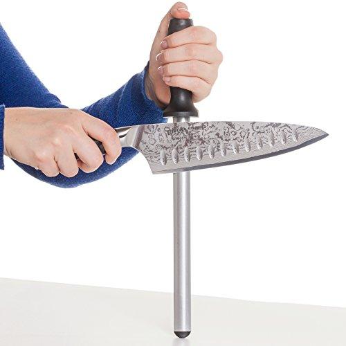 Diamond Series Edge (Ergo Chef Pro-Series 12 inch Diamond Oval Knife Sharpener)