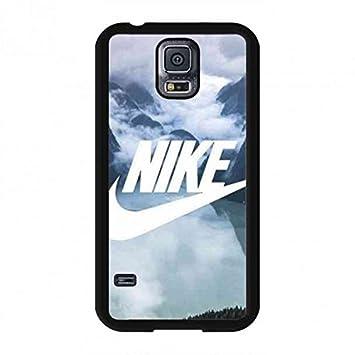 523748a26fd Classic Clouds Logo Of Nike Phone Funda,Nike Logo Phone Funda For Samsung  Galaxy S5,Nike Cover Funda Phone Samsung Galaxy S5: Amazon.es: Electrónica