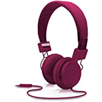 Nicole Miller BoHo Headphone with Mic - Boysenberry (HP6401-FU)