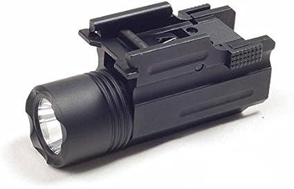 Pistol LED Flashlight Mount 200 Lumen  Weaver Picatinny