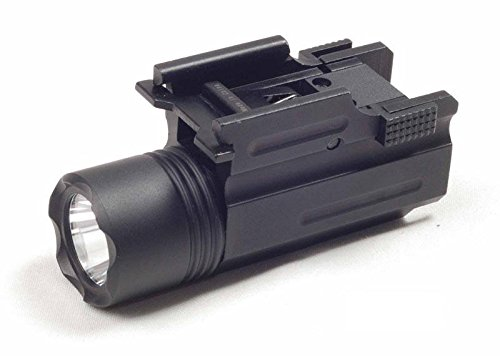 Ade Advanced Optics Strobe 200 Lumen CREE C4 LED Flashlight for Compact Pistols (Springfield Xdm 9mm Full Size For Sale)