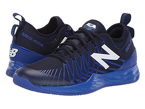 New Balance Men's LAV V1 Hard Court Tennis Shoe, Pigment/UV Blue, 10.5 2E US
