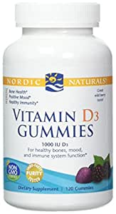 Amazon com: Nordic Naturals Vitamin D3 Gummies - Vitamin D from
