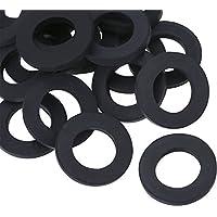 Lvcky 20 Pack tuindoucheslang slangringen rubberen ringen afdichtingen voor tuinslang en doucheslang (3/10,2 cm)