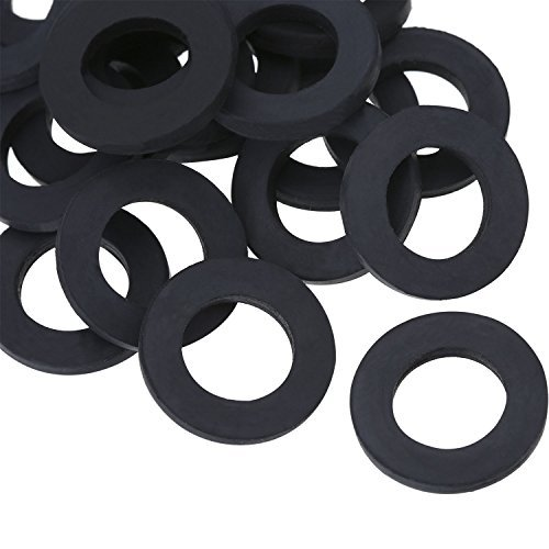 Hotop 20 Pack Garden Shower Hose Washers Rubber Washers Seals for Garden Hose and Shower Hose (3/4 inch)