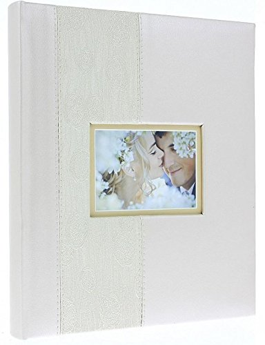 Heartbeat Traditional Photo Album Beige 60 Black Pages 240 Photos