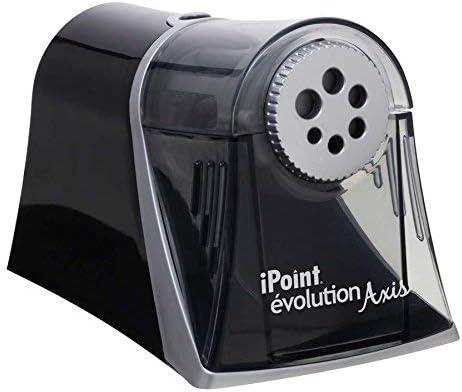 Westcott ACM15509-A1 iPoint Evolution Axis Multi-Size Pencil Sharpener Black [並行輸入品]