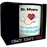 Personalised Mug Cardiologist Congratulation Gifts For Qualified Cardiologists By Crazy Tonys by CRAZY TONYS