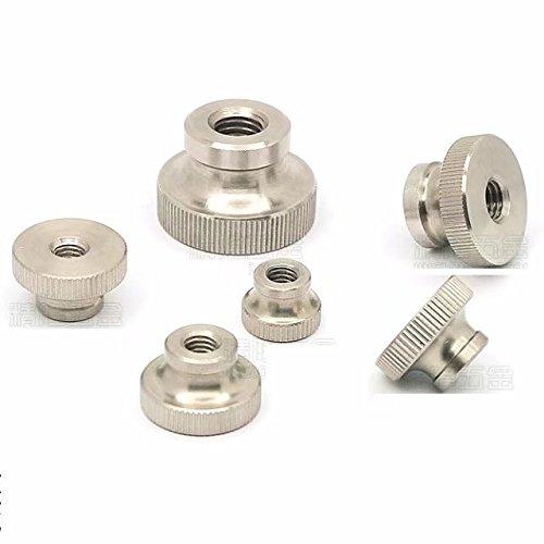 10pcs M12 Stainless Steel Knurled Thumb Nut ABBOTT by Abbott