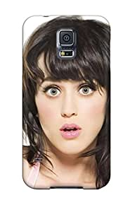 Tpu Case Cover Compatible For Galaxy S5/ Hot Case/ Cute Katy Perry