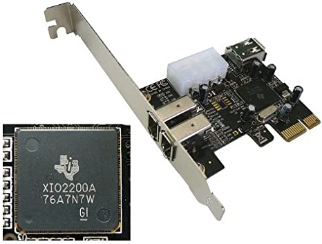 Pcie To Firewire 400 Ieee1394a Controller Card Pci Amazon Co Uk Electronics