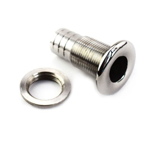 Ting Ao Boat Thru Hull Fitting Hose Barb Drain Marine Yacht 316 Stainless Steel (3/4 in)